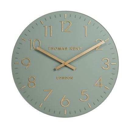 Durham Wall Clock - Seafoam
