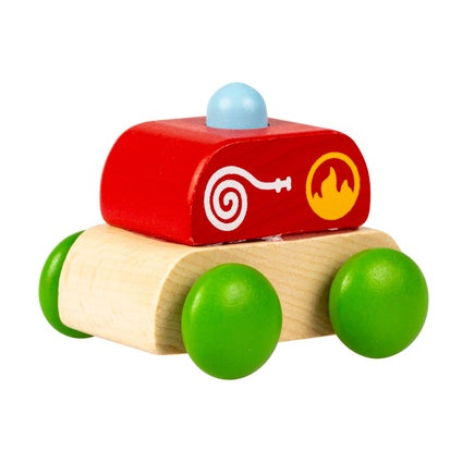 Wooden Emergency Cars - Assorted
