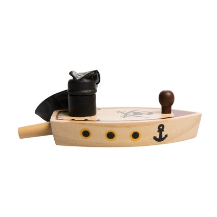 Wooden Balloon Boat - Assorted