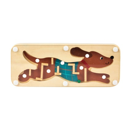 Wooden Labyrinth Puzzle - Assorted
