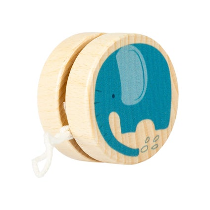 Wooden Jungle Yoyo - Assorted