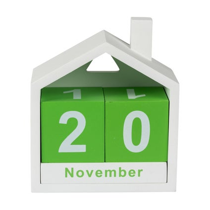 House Date - White/Green