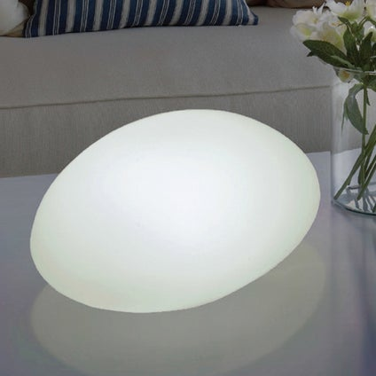 Solar Stone Lantern