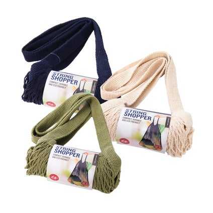 Cotton String Shoppers - Assorted