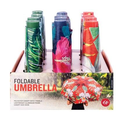 Foldable Umbrella - Tropical