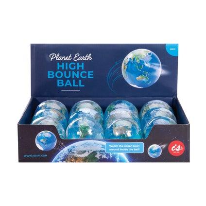 Planet Earth High Bounce Ball