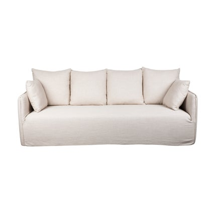Bronte 3-seat Sofa -  Natural