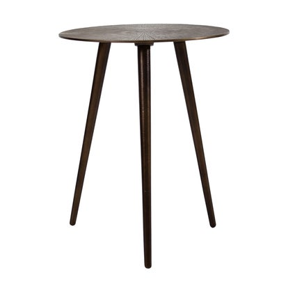 Cleo Side Table - Medium - Antique Brass