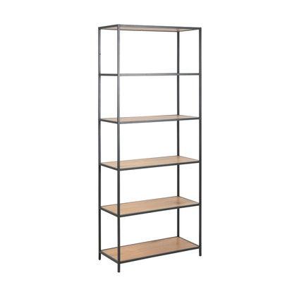 Seaford Shelf - Tall - Natural/Black