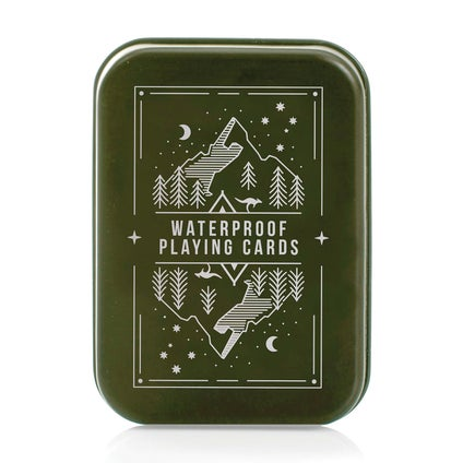 Waterproof Playing Cards In A Tin