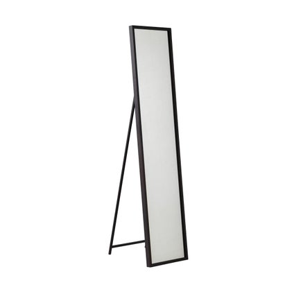 Avril Standing Mirror- Black- 40x17