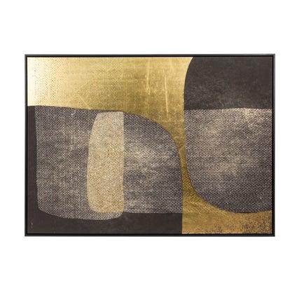 Blackend Gold Framed Artwork