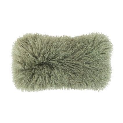 Lambie Cushion - Olive - 25x50cm