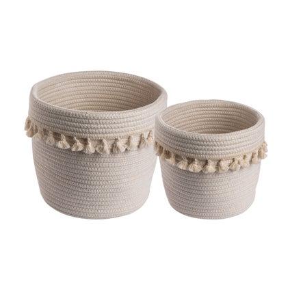 Malasi Basket 2 piece - White