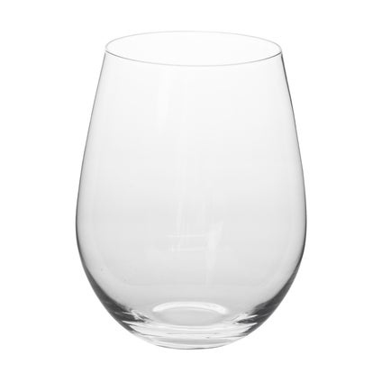 Fino Lead Free Crystal Stemless Wine Glass