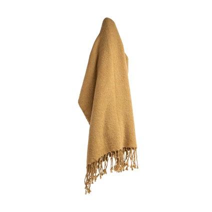 Mellor Weave Throw - Harvest Gold