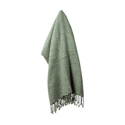 Mellor Weave Throw - Seafoam