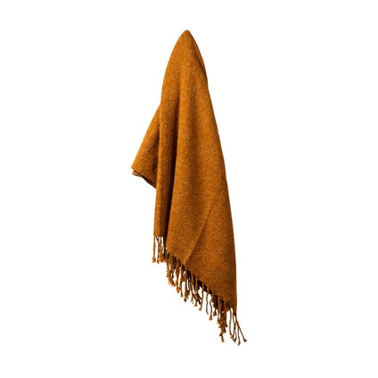 Mellor Weave Throw - Toffee