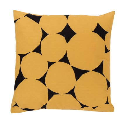 Pebble Outdoor Cushion - Mustard/Graphite