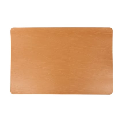 Recycled Leather Placemat - Tobacco