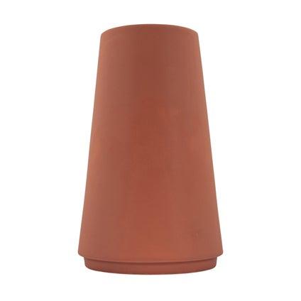 Taper Vase- Rust