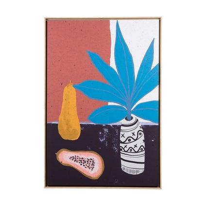 Still Life with Papaya Artwork