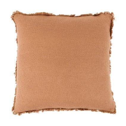 Vila Fringe Cushion - Caramel 50x50cm