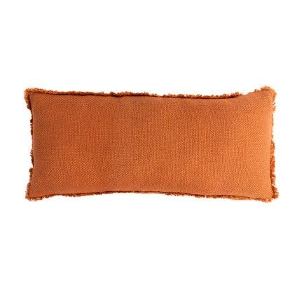 Vila Fringe Cushion - Ginger 30x70cm