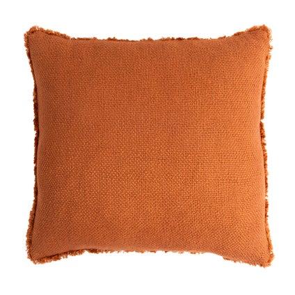 Vila Fringe Cushion - Ginger 50x50cm