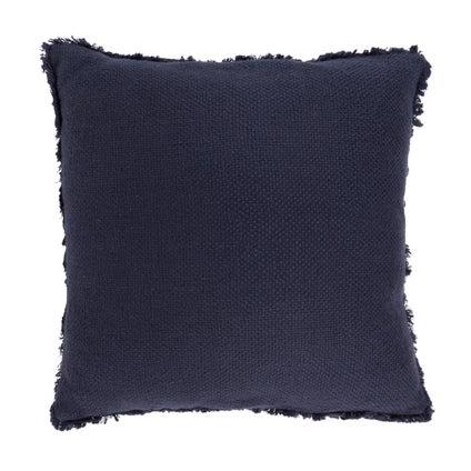 Vila Fringe Cushion - Navy 50x50cm