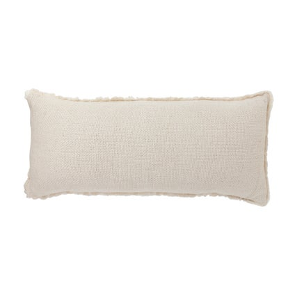 Vila Fringe Cushion - Off White 30x70cm