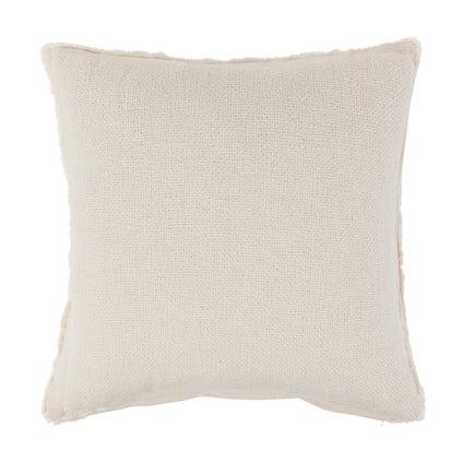 Vila Fringe Cushion - Off White - 50x50cm