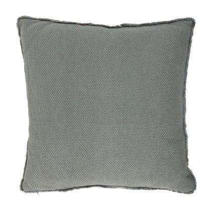 Vila Fringe Cushion - Seafoam - 50x50cm