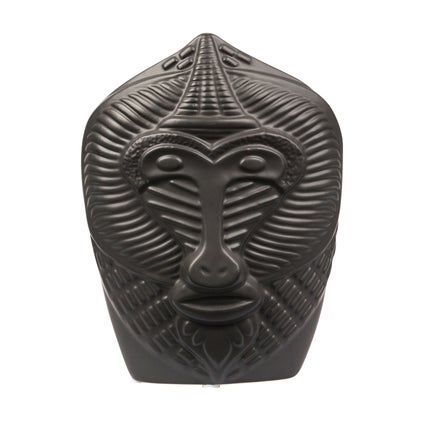Monkey Face Vase - Black