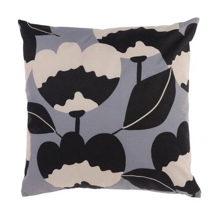 Flora Outdoor Cushion - Graphite/Clay 45x45cm