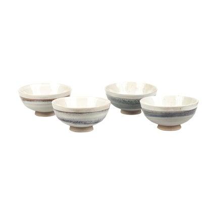 Kepa Bowl Set - Blue Grey-4pc