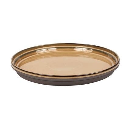 Stakka Dinner Plate - Caramel