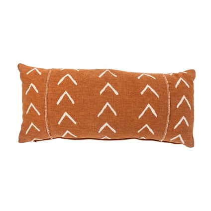 Boram Print Cushion - Terracotta 30x70cm