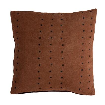 Mahali Spot Print Cushion 45x45 - Coco Black