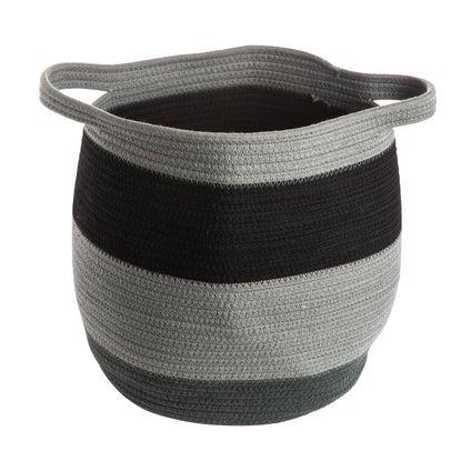 Kaseta Stripe Basket - Green
