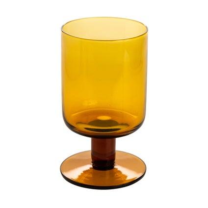 Katto Wine Glass - Amber