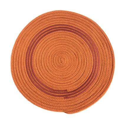 Swirl Placemat - Rust