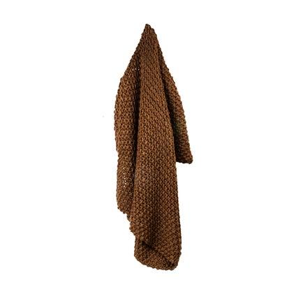 Epic Moss Knit Throw - Hazelnut