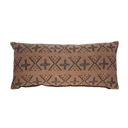 Monteno Print Cushion - Coco/Black 30x70cm