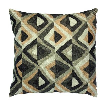 Teria Velvet Cushion - Olive 50x50cm
