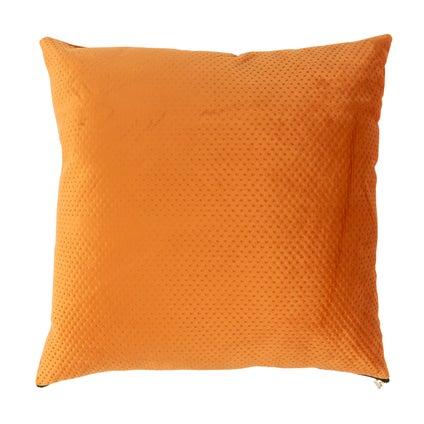 Pip Zip Velvet Cushion - Terracotta 50x50cm