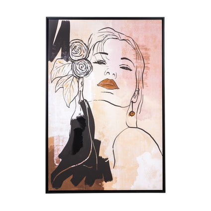 Femme Fatale Framed Canvas