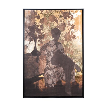 Shadows Framed Canvas