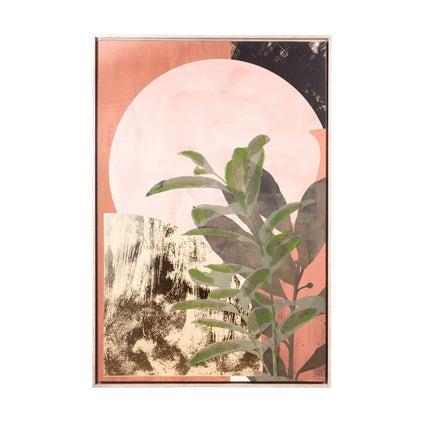 Moorish Garden Framed Canvas