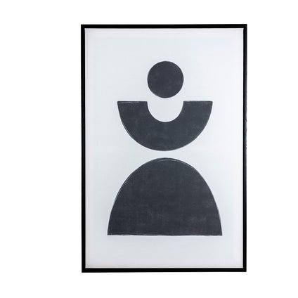 Bauhaus Hill Framed Canvas